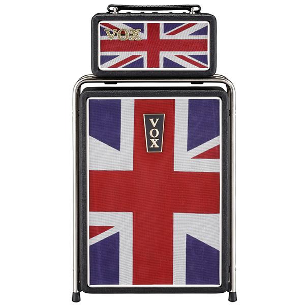 VOX(ヴォックス) / MINI SUPERBEETLE Union Jack (MSB25-UJ) - Nutube搭載 ミニ・スタックアンプ / ギターアンプ - 【2月24日発売予定】