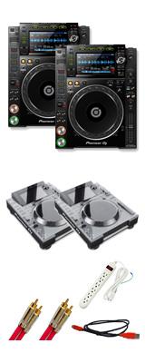 Pioneer(パイオニア) /CDJ-2000NXS2 デッキセーバー付き 2台セット 6大特典セット