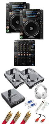Pioneer(パイオニア) /CDJ-2000NXS2 / DJM-900NXS2 デッキセーバーセット 11大特典セット