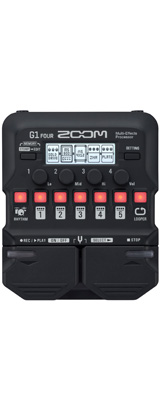 Zoom(ズーム) / G1 FOUR マルチエフェクツ・プロセッサー 《マルチエフェクター》 1大特典セット