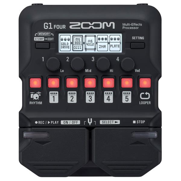 Zoom(ズーム) / G1 FOUR - マルチエフェクツ・プロセッサー - 《マルチエフェクター》 【1月下旬発売予定】