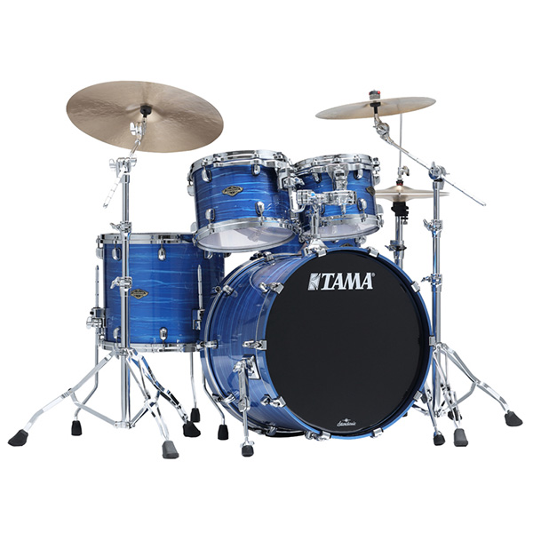TAMA(タマ) / Starclassic Walnut/Birch Configurations set [WBS42S-LOR] Lacquer Ocean Blue Ripple ドラムシェル4点セット