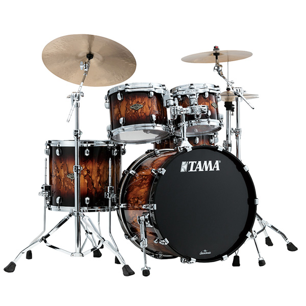 TAMA(タマ) / Starclassic Walnut/Birch Configurations set [WBS42S-MBR] Molten Brown Burst ドラムシェル4点セット