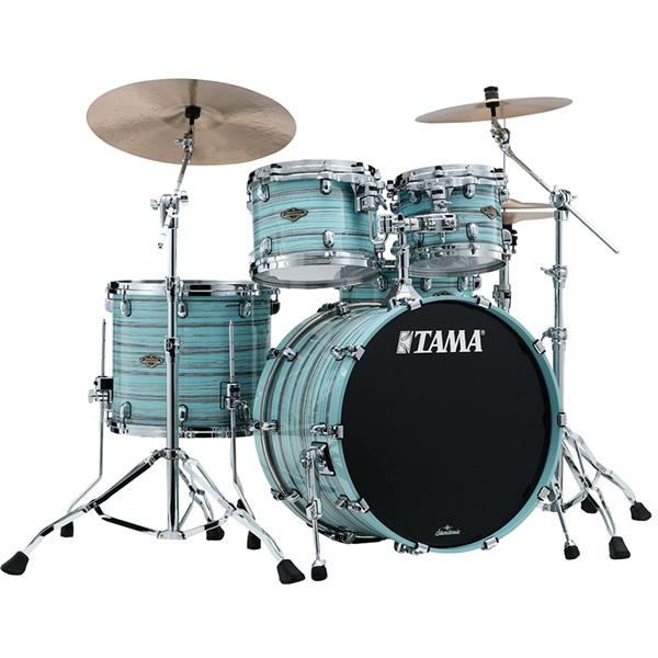 【受注生産モデル / 納期約5ヵ月】TAMA(タマ) / Starclassic Walnut/Birch Configurations set [WBS42S-LLO] Lacquer Arctic Blue Oyster ドラムシェル4点セット※代金引換不可※