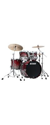 【受注生産モデル / 納期約5ヵ月】TAMA(タマ) / Starclassic Walnut/Birch Configurations set [WBS42S-SGF] Satin Burgundy Fade ドラムシェル4点セット※代金引換不可※