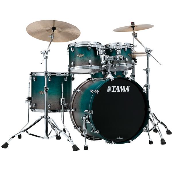 【受注生産モデル / 納期約5ヵ月】TAMA(タマ) / Starclassic Walnut/Birch Configurations set [WBS42S-SPF] Satin Sapphire Fade ドラムシェル4点セット※代金引換不可※