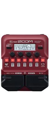■ご予約受付■ Zoom(ズーム) / B1 FOUR Bass Multi-Effects Processor - ベース マルチエフェクター - 【次回未定】 1大特典セット