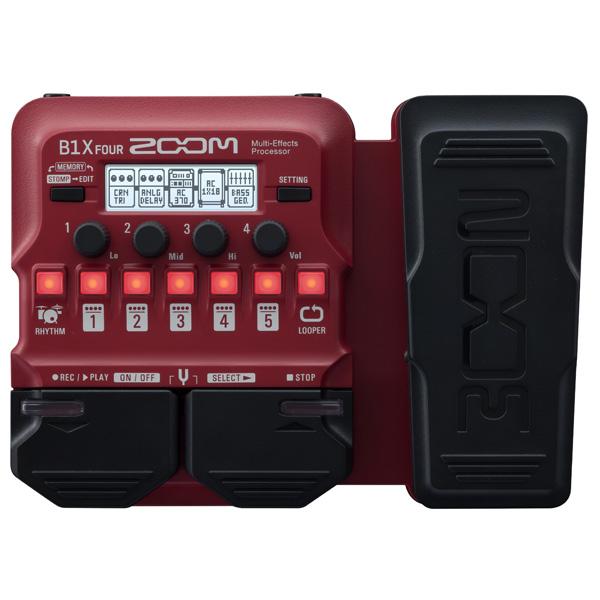 Zoom(ズーム) / B1X FOUR Bass Multi-Effects Processor - ベース マルチエフェクター - 【今春発売予定】