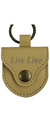 LIVE LINE(ライブライン) / LPC1200BEG(ベージュ) - レザー ピックケース -