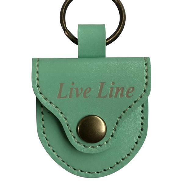 LIVE LINE(ライブライン) / LPC1200MGN(モスグリーン) - レザー ピックケース -