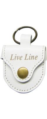 LIVE LINE(ライブライン) / LPC1200WH(ホワイト) - レザー ピックケース -