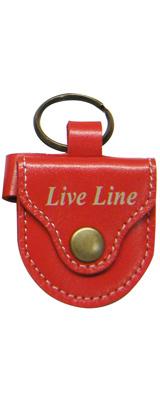 LIVE LINE(ライブライン) / LPC1200RD(レッド) - レザー ピックケース -