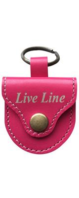 LIVE LINE(ライブライン) / LPC1200PK(ピンク) - レザー ピックケース -