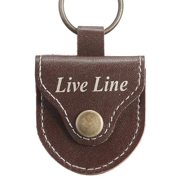 LIVE LINE(ライブライン) / LPC1200CH(チョコレート) - レザー ピックケース -