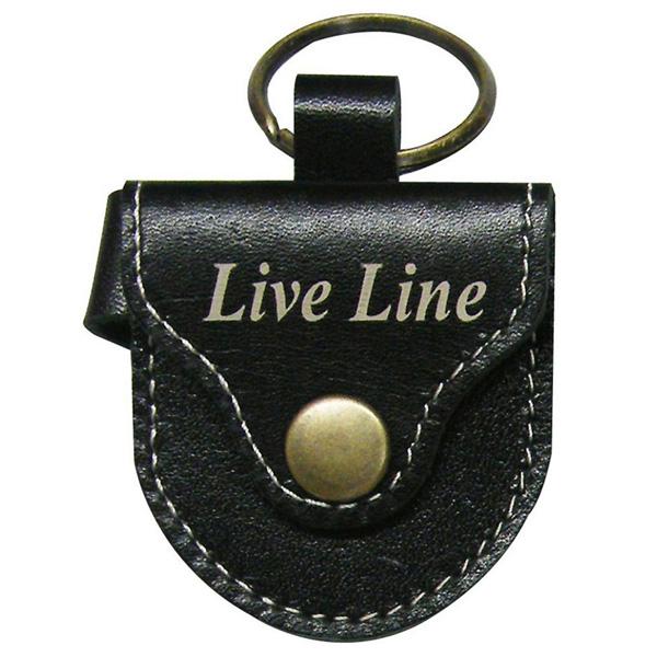 LIVE LINE(ライブライン) / LPC1200BK(ブラック) - レザー ピックケース -