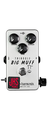 "JHS Pedals(ジェイエイチエスペダルズ) / EHX Triangle Muff ""Illuminati Mod"" - ディストーション - 《ギターエフェクター》 【納期未定】 1大特典セット"