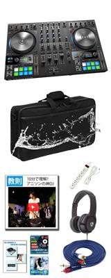 【+1,000円 撥水ケースセット】TRAKTOR KONTROL S4 MK3 / Native Instruments(ネイティブインストゥルメンツ) 【TRAKTOR PRO 3 付属】- PCDJコントローラー - 7大特典セット