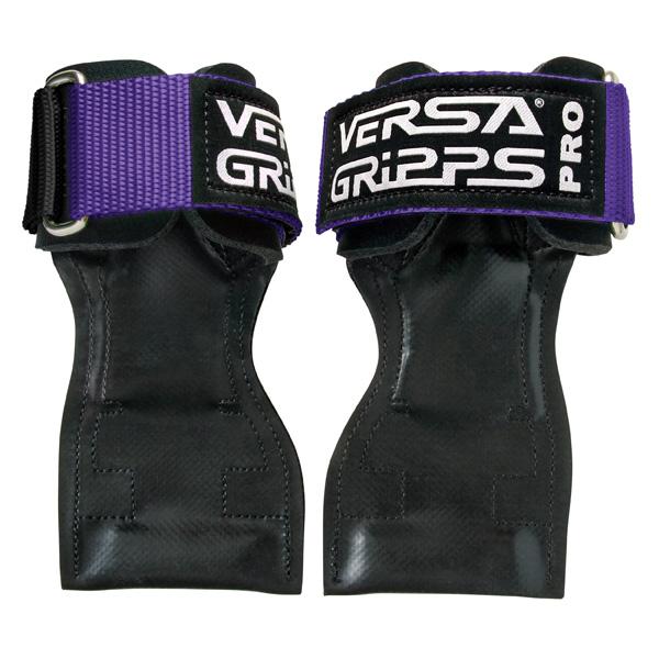 Versa Gripps(バーサグリップ) / Versa Gripps PRO purple Lサイズ - パワーグリップ トレーニングアクセサリー -