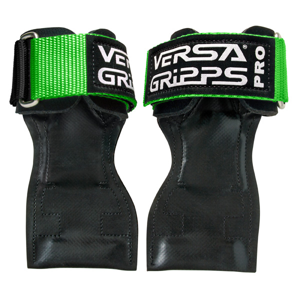Versa Gripps(バーサグリップ) / Versa Gripps PRO LimeGreen Sサイズ - パワーグリップ トレーニングアクセサリー -