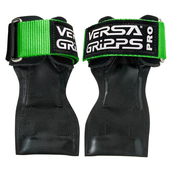 Versa Gripps(バーサグリップ) / Versa Gripps PRO LimeGreen XSサイズ (約12〜15cm) - パワーグリップ トレーニングアクセサリー -