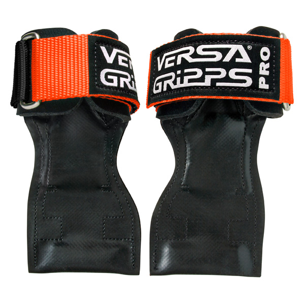 Versa Gripps(バーサグリップ) / Versa Gripps PRO Orange Sサイズ - パワーグリップ トレーニングアクセサリー -