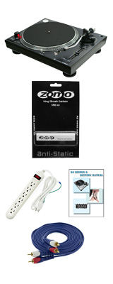 【レコードクリーナープレゼントキャンペーン】 Neu(ヌー) / DD1200MK3 / Zomoレコードクリーナーセット 6大特典セット