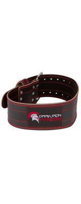 Dark Iron Fitness(ダークアイアンフィットネス) / GENUINE LEATHER WEIGHT LIFTING BELT(M size) - 32〜40インチ トレーニングベルト 調整可能バックル ウエイトリフティング -