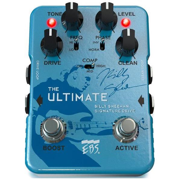 EBS(イービーエス) / Billy Sheehan Ultimate Signature Drive - オーバードライブ - 《ベースエフェクター》 1大特典セット