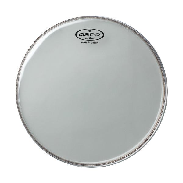 aspr(アサプラ) / 2PLY drumhead S2 series Clear Heavy Type 10インチ  [S2TH10] 2プライ ドラムヘッド