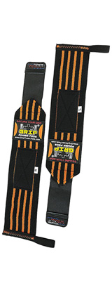 Grip Power Pads / Deluxe Wrist Wraps (Orange) 13インチ リストラップ  1ペア