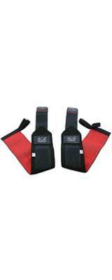 Grip Power Pads / Deluxe Wrist Wraps (Black) 18インチ リストラップ