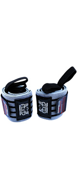 Grip Power Pads / Deluxe Wrist Wraps(Gray) 18インチ リストラップ