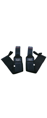 Grip Power Pads / Deluxe Wrist Wraps (Jet Black) 18インチ リストラップ