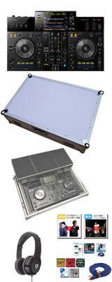 Pioneer(パイオニア) / XDJ-RR フライトケース (ホワイト) 激安定番モバイルAセット 12大特典セット