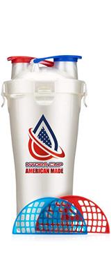 Hydra Cup / Dual Threat Shaker Bottle 2.0(American) プロテイン シェーカー 2in1 28オンス(約800mL)