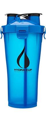 Hydra Cup / HYDRA36 (5am Blue) 36オンス(約1050mL) Dual Threat Shaker Bottle プロテイン シェーカー ボトル ヒドラカップ