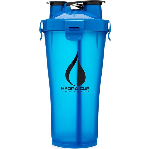 Hydra Cup / Dual Threat Shaker Bottle 3.0(Blue) プロテイン シェーカー 2in1 36オンス(約1050mL)
