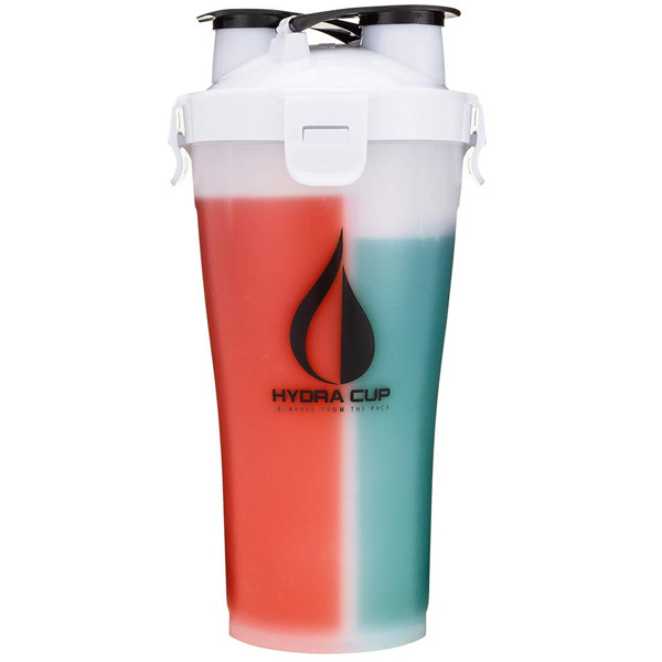 Hydra Cup / Dual Threat Shaker Bottle 3.0(Everest White) プロテイン シェーカー 2in1 36オンス(約1050mL)