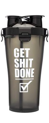 Hydra Cup / HYDRA36 (Get Shit Done) 36オンス(約1050mL) Dual Threat Shaker Bottle プロテイン シェーカー ボトル ヒドラカップ