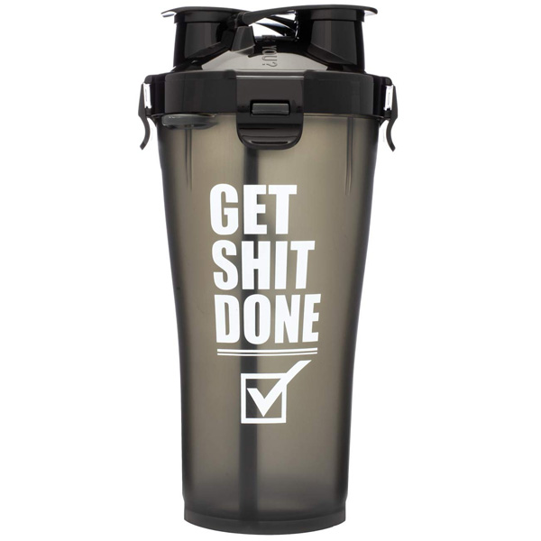 Hydra Cup / Dual Threat Shaker Bottle 3.0(Get Shit Done) プロテイン シェーカー 2in1 36オンス(約1050mL)