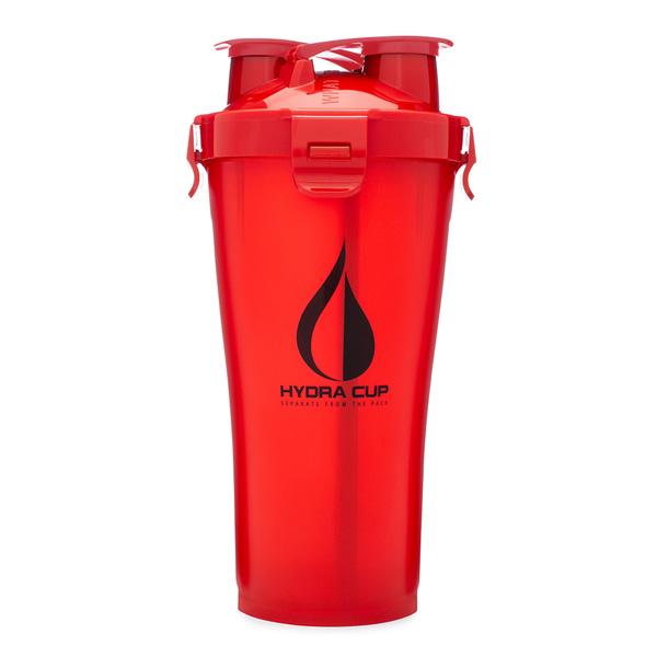 Hydra Cup / Dual Threat Shaker Bottle 3.0(Rocket Red) プロテイン シェーカー 2in1 36オンス(約1050mL)