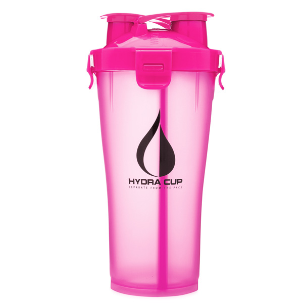 Hydra Cup / Dual Threat Shaker Bottle 3.0(Ultra Pink) プロテイン シェーカー 2in1 36オンス(約1050mL)