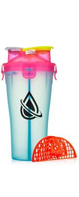 Hydra Cup / Dual Threat Shaker Bottle 2.0(Miami Blue) プロテイン シェーカー 2in1 28オンス(約800mL)