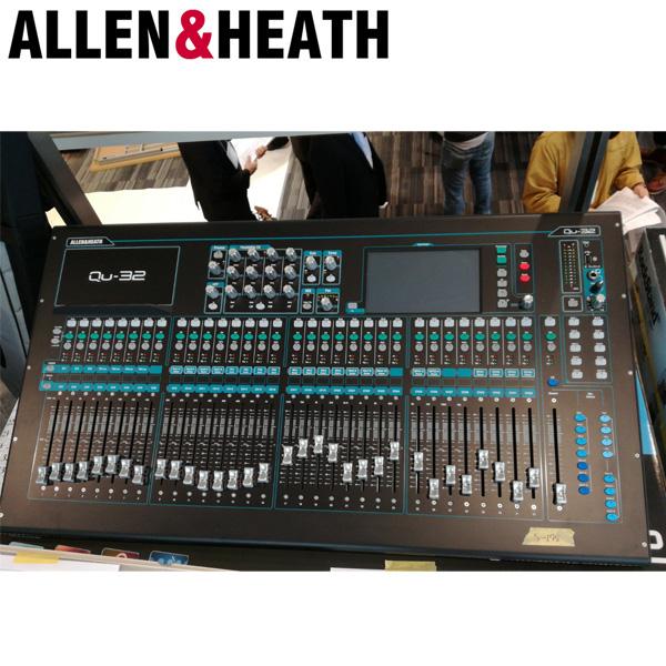 【限定1台】Allen&Heath(アレンアンドヒース) / QU-32C デジタルミキサー 【美品/アウトレット品/メーカー保証付】