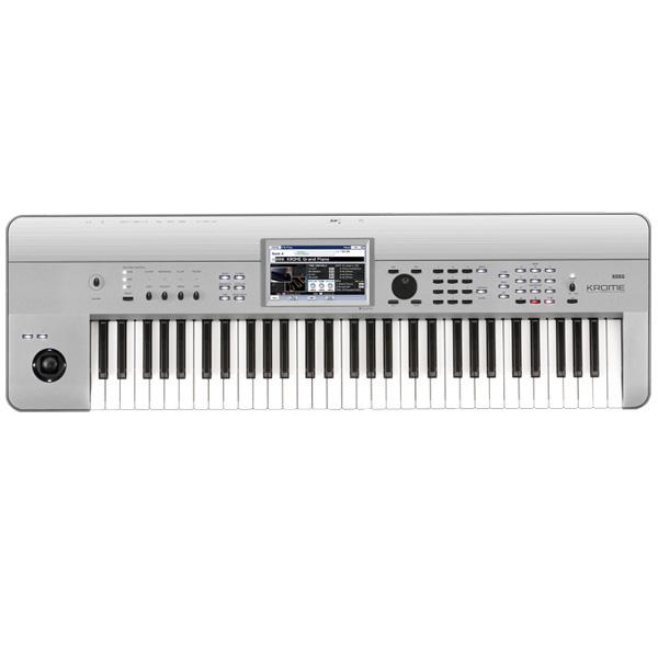 【限定1台】Korg(コルグ) / KROME-61 PT Platinum 61鍵盤 ミュージック・ワークステーション・シンセサイザー 【美品/アウトレット品/メーカー保証付】