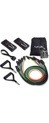 TheFitLife / Exercise Resistance Bands with Handles エクササイズチューブ・バンド 5種類セット 【キャリングケース付】