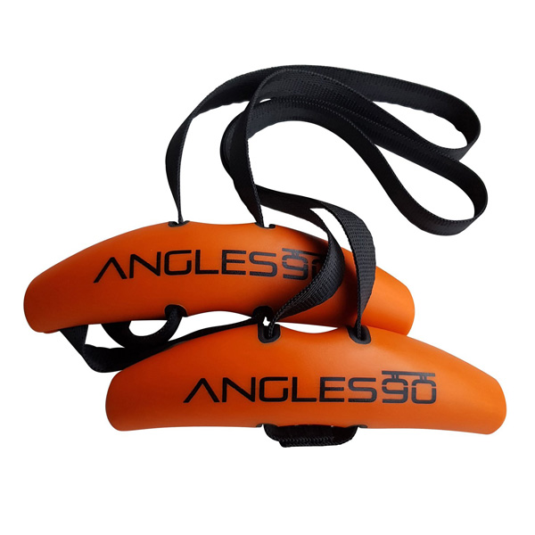 Angles90 / Angles90 (グリップ2点 + カラビナ1点) トレーニング用アタッチメント チンニング(懸垂) デッドリフト ラットプルダウン トレーニング効果アップ ケガの抑制 (アングルスナインティ)