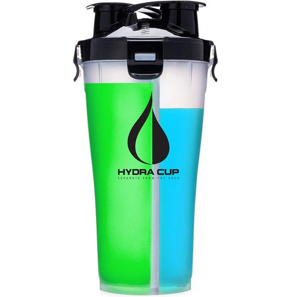 Hydra Cup / Dual Threat Shaker Bottle 3.0(OG Clear/Black) プロテイン シェーカー 2in1 36オンス(約1050mL)