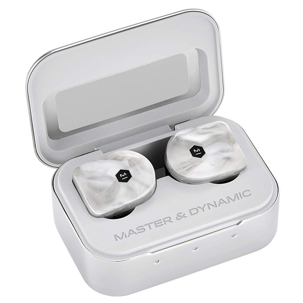 MASTER & DYNAMIC / MW07 (White Marble) Bluetooth対応 完全ワイヤレスイヤホン 1大特典セット