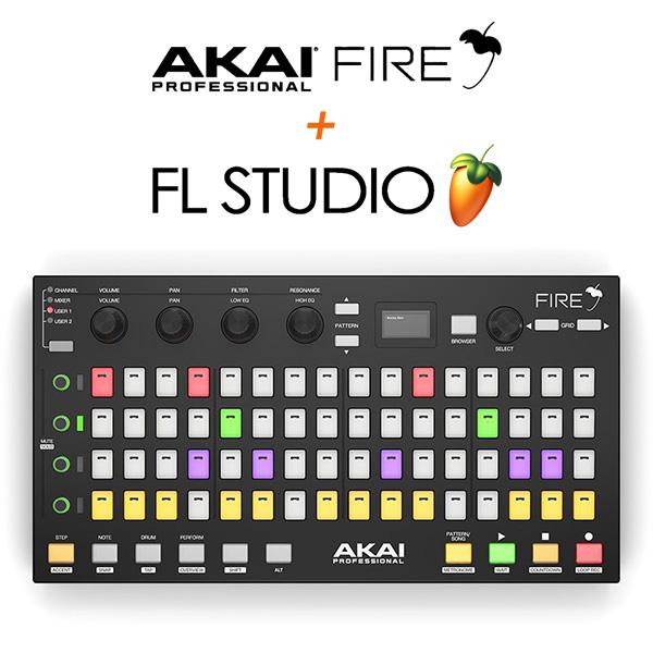 【限定1台】Akai (アカイ) / FIRE 【FL Studio / Fruity Fire Edition付属】 FL Studio専用コントローラーの商品レビュー評価はこちら